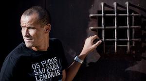 Rivaldo, en el monasterio de Pedralbes, el pasado octubre.