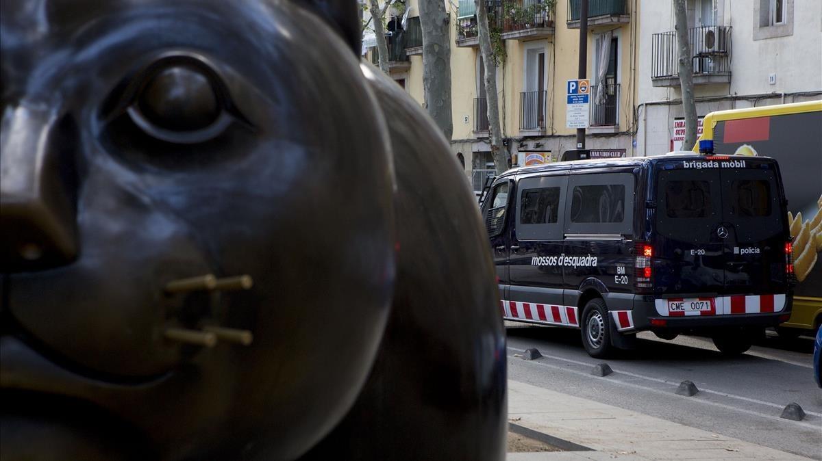 La Rambla del Raval de Barcelona, donde supuestamente ocurrió el ataque homófobo.