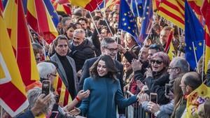 C's 'versus' ERC: no només és la bandera