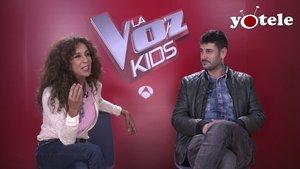 Rosario y Melendi, coaches de 'La voz kids' en Antena 3.