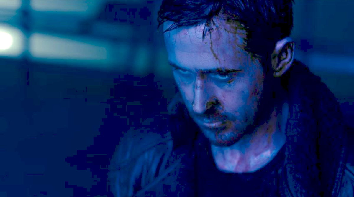 Ryan Gosling, en un fotograma de Blade runner 2049.