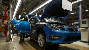 Seat preveu reprendre dilluns la producció de cotxes a Martorell