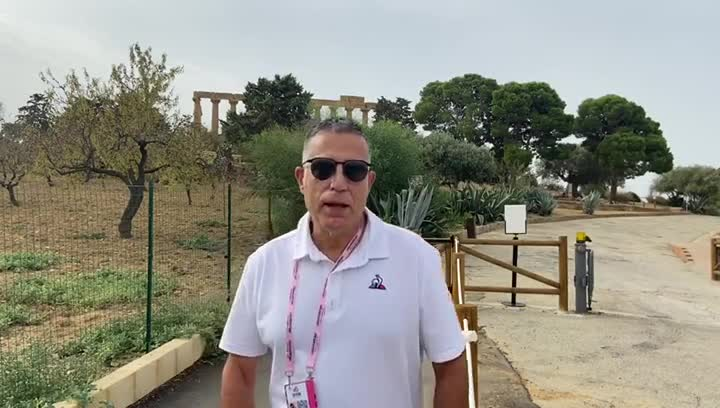 Sergi López-Egea opina sobre el Giro de Italia 2020.