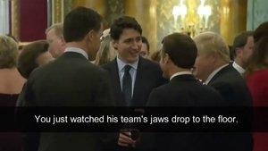 Trump abandona la cimera de l'OTAN després de les bromes de Trudeau