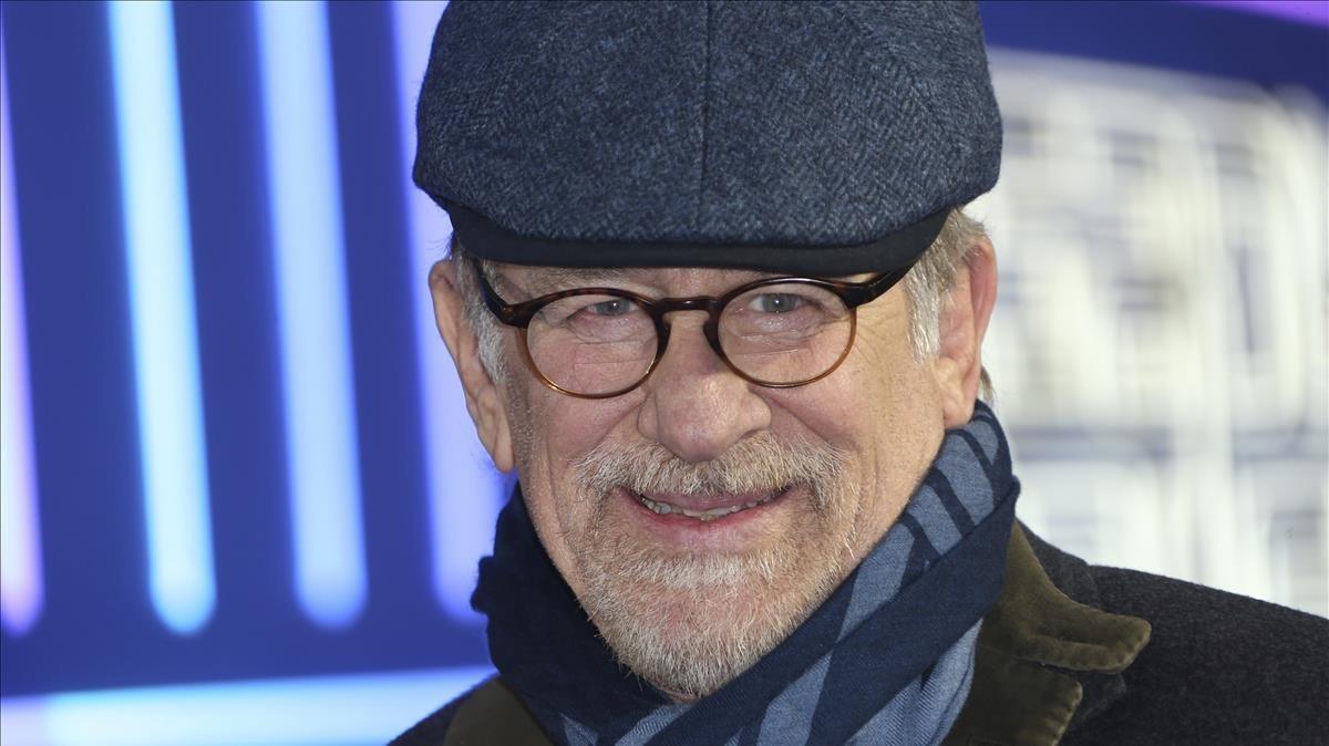 Steven Spielberg, el pasado marzo en Londres.