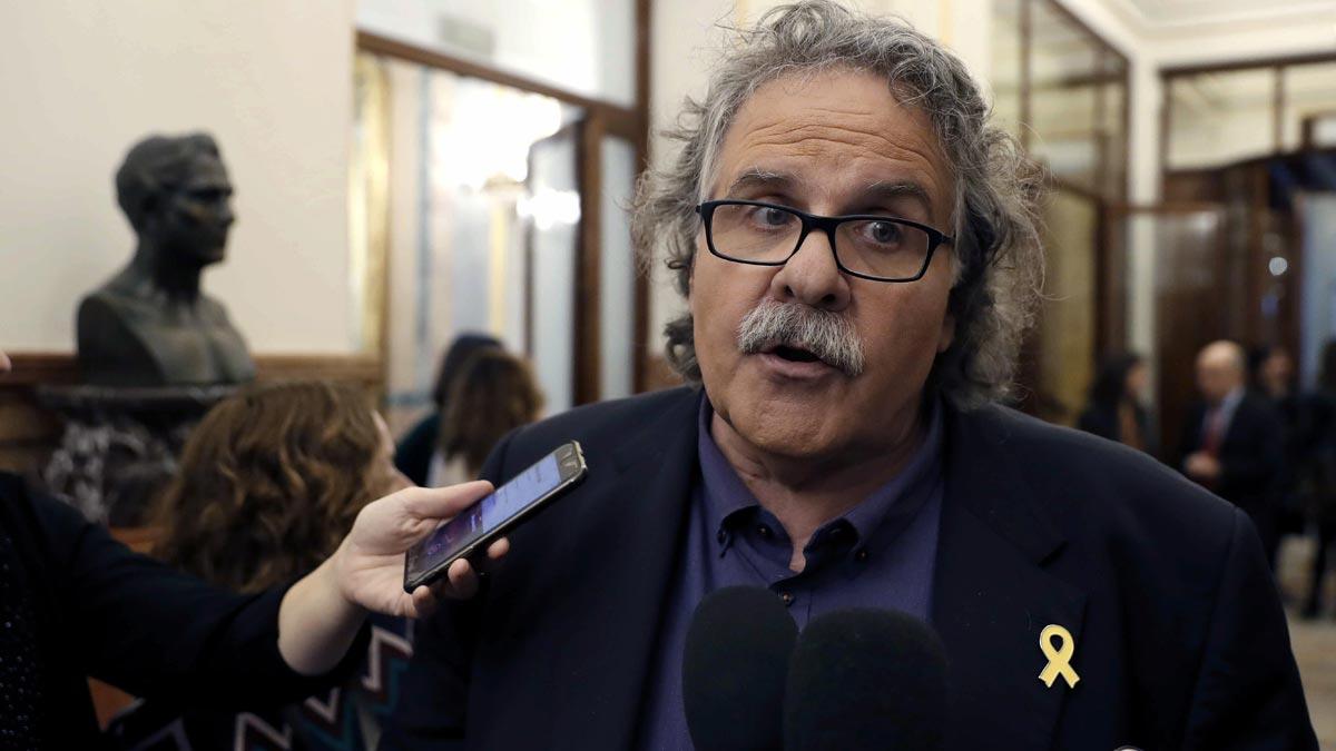 Tardá: No me consta que Podemos nos haya ofrecido la cabeza de Borrell a cambio de los presupuestos, pero si Rufián lo dice yo le creo.
