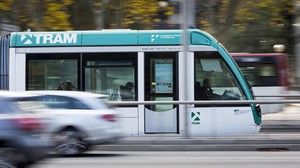 El tranvía cubriría el recorrido Glòries-Verdaguer en siete minutos