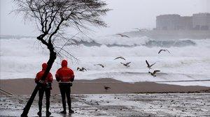 El temporal de fred i neu castiga el nord d'Espanya