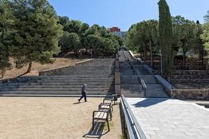 El uso del acceso al Parque de Les Planes de LHospitalet dependerá de las propuestas de los vecinos