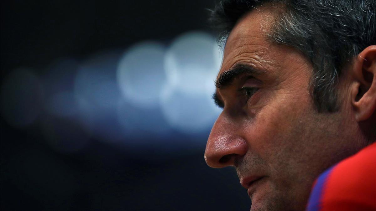 Valverde pone el foco en el Deportivo.