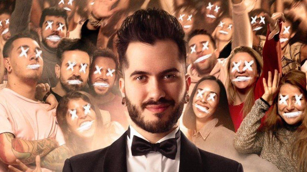 Wismichu, en una imagen promocional de Vosotros sois mi pelicula, de Carlo Padial