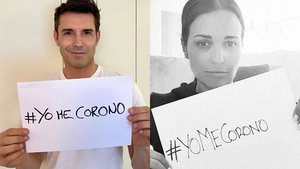 Éxito de la campaña #YoMeCorono de Marc Clotet y Natalia Sánchez: se unen desde Jesús Vázquez a Sharon Stone