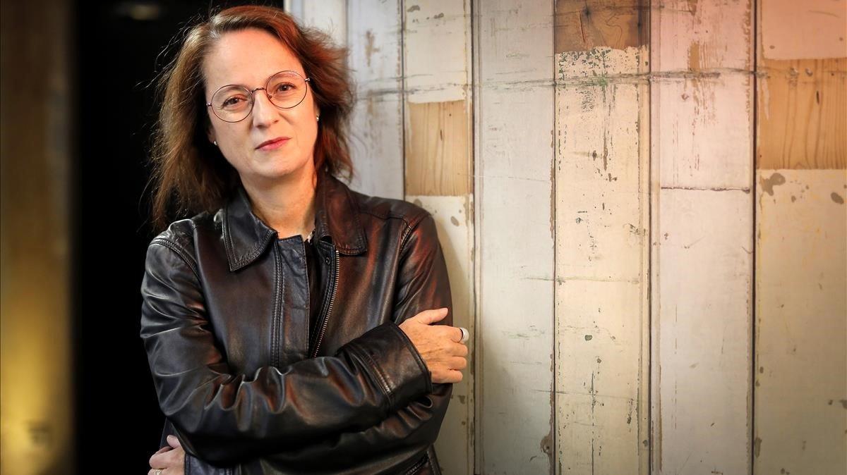 Marta Sanz, en Madrid, en una imagen de archivo.