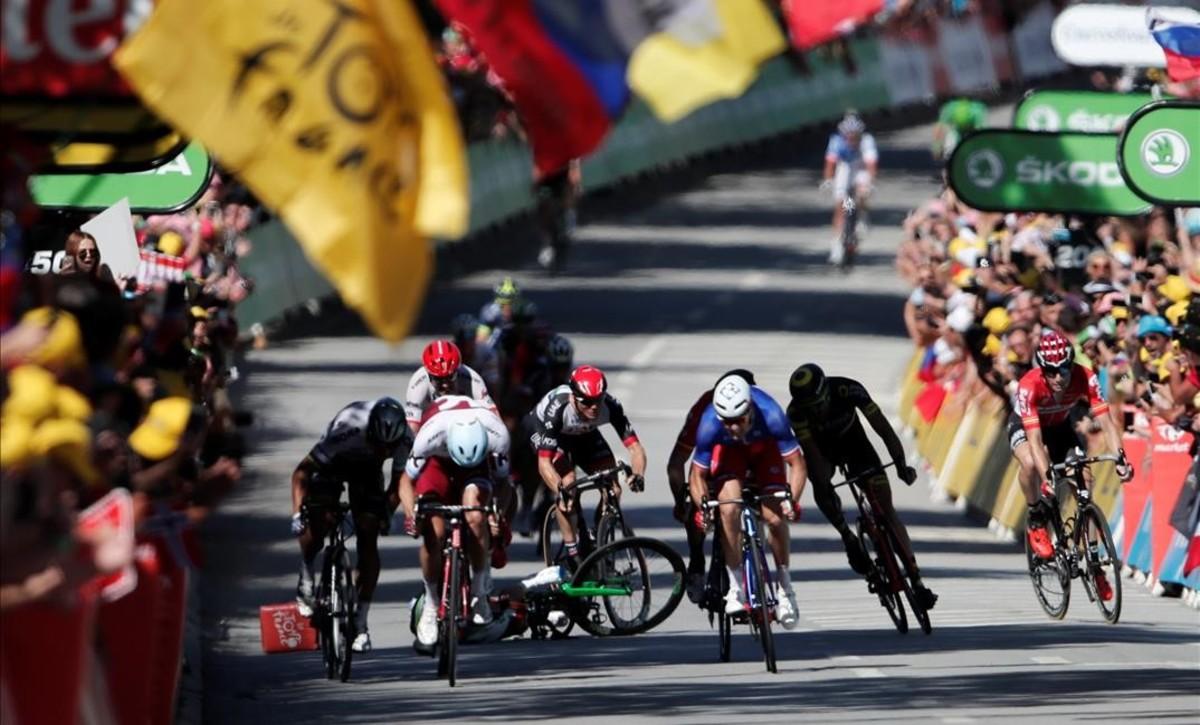 Peter Sagan, expulsat del Tour de França