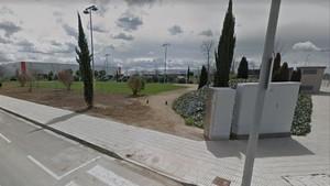 Vista de la rebautizada plaza 1 dOctubre deEl Palau dAnglesola.