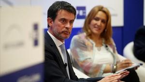 Manuel Valls, en el EFEForo Líderes.