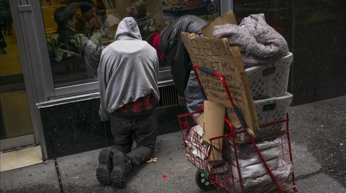 Pobres en el país de los milmillonarios
