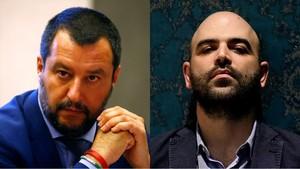 Salvini es querella contra Saviano