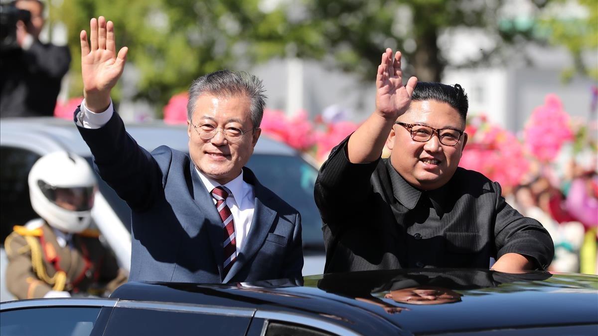 Kim se compromete desde ya a desmantelar por completo la base de lanzamiento de proyectiles de Sohae.