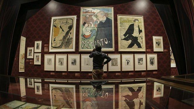 La museografía de Toulouse-Lautrec y el espíritu de Montmartre recuerda el París de finales del siglo XIX.