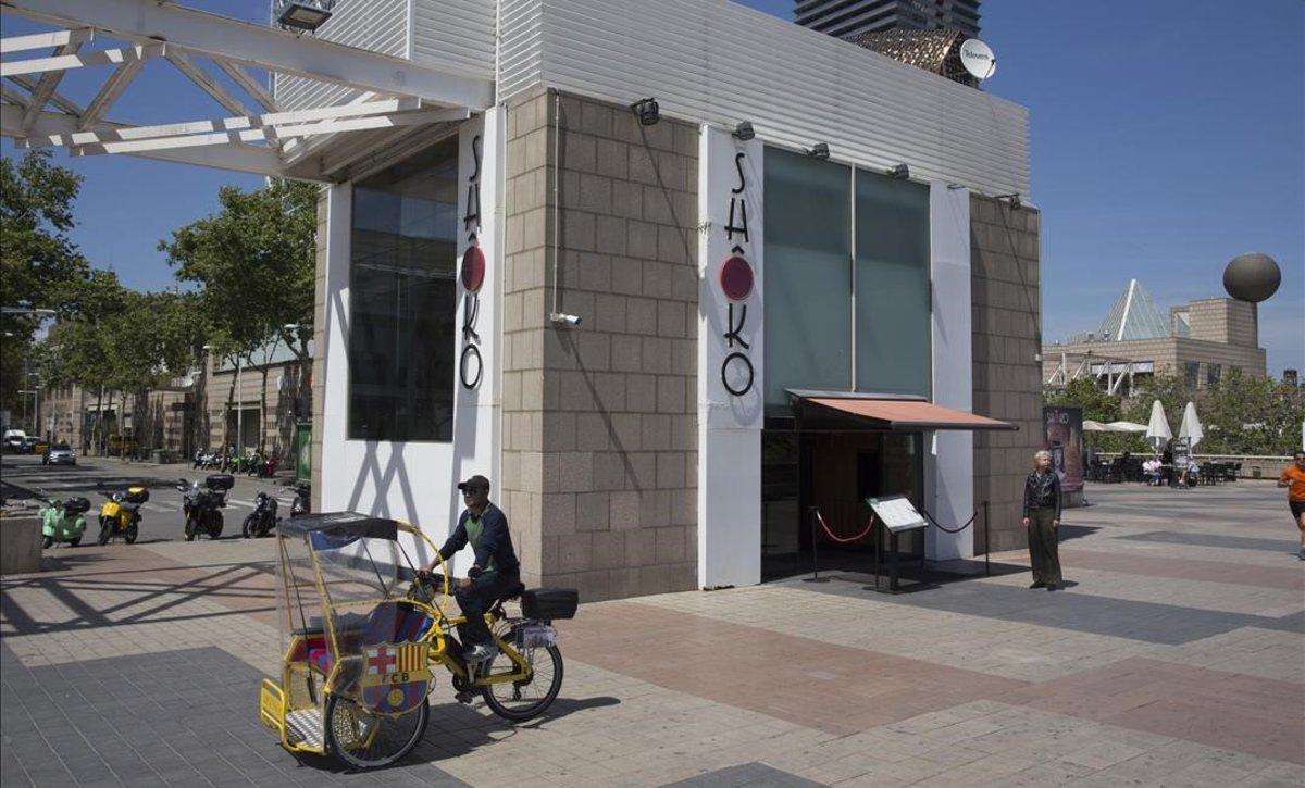 Dos detinguts després d'una baralla amb arma de foc davant la discoteca Shoko de Barcelona