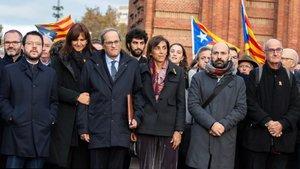 La inhabilitació de Torra obre un incert compte enrere de la legislatura a Catalunya