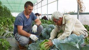 Un agricultor en una imagen cedida por la fundación La Caixa.