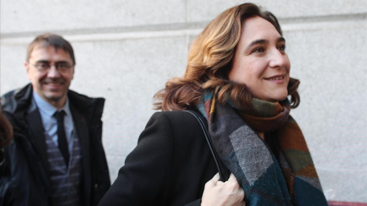 Ada Colau defensa l'indult per als presos independentistes