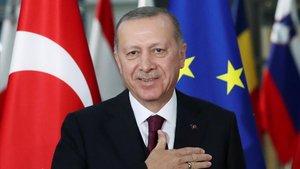 Erdogan: «La frontera continuarà oberta fins que la UE compleixi les nostres expectatives»
