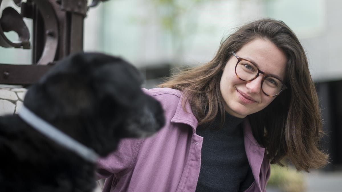 Carla Ferrer Cadenet, estudiante de cuarto de Medicina del Clínic.
