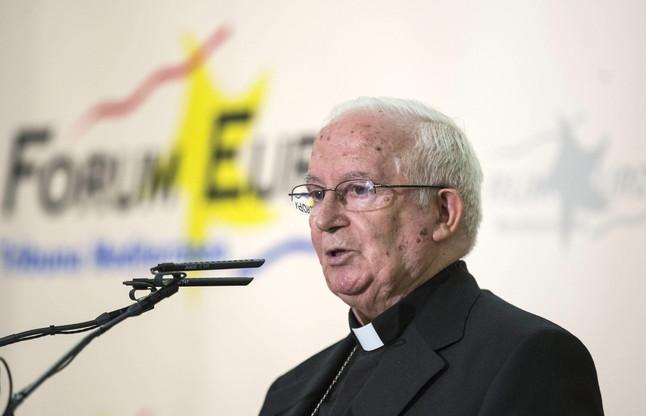 El arzobispo de Valencia, Antonio Cañizares.