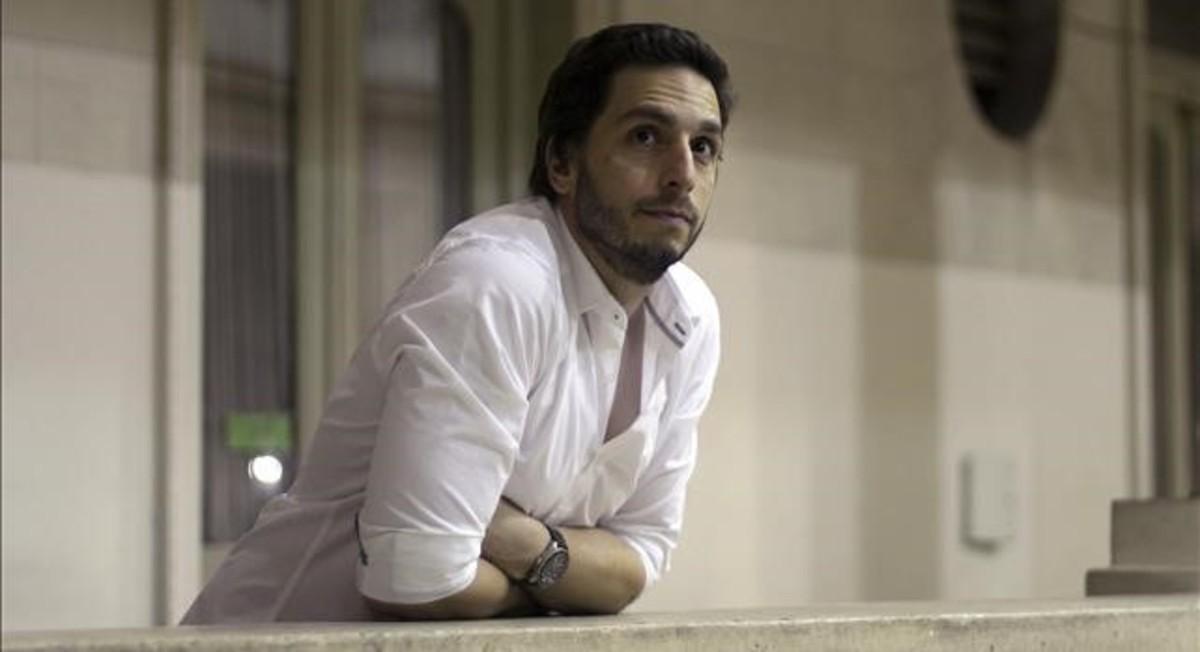 El escritor argentino Federico Axat.
