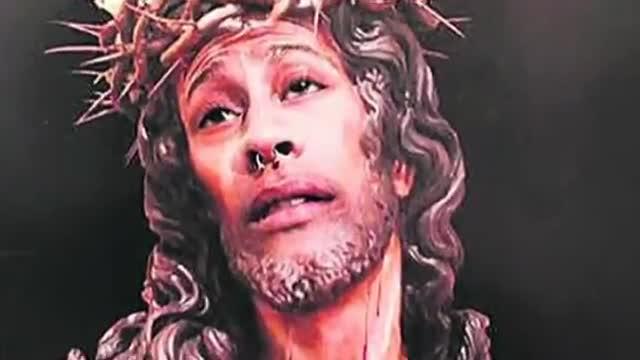 Multa de 480 euros per publicar a internet un fotomuntatge dun Crist amb la seva cara