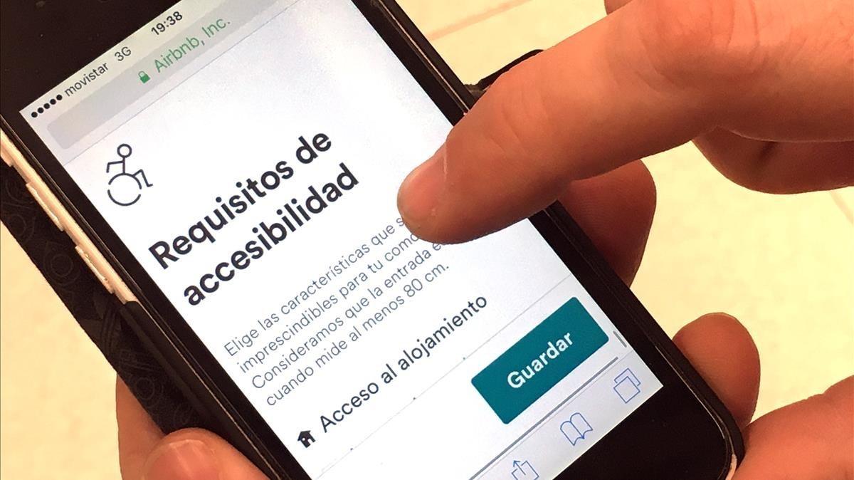 Airbnb estrena 21 nuevos filtros relacionados con la accesibilidad / JOAN CORTADELLAS