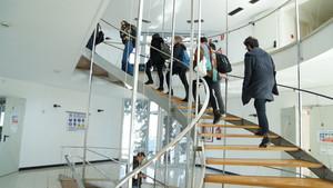 Visita de estudiantes al CoBoi.