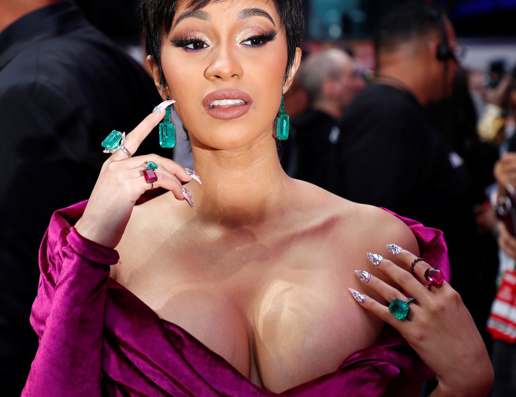 2018 MTV Video Music Awards - Arrivals - Radio City Music Hall, New York, U.S., August 20, 2018 - Cardi B. REUTERS/Carlo Allegri TPX IMAGES OF THE DAY