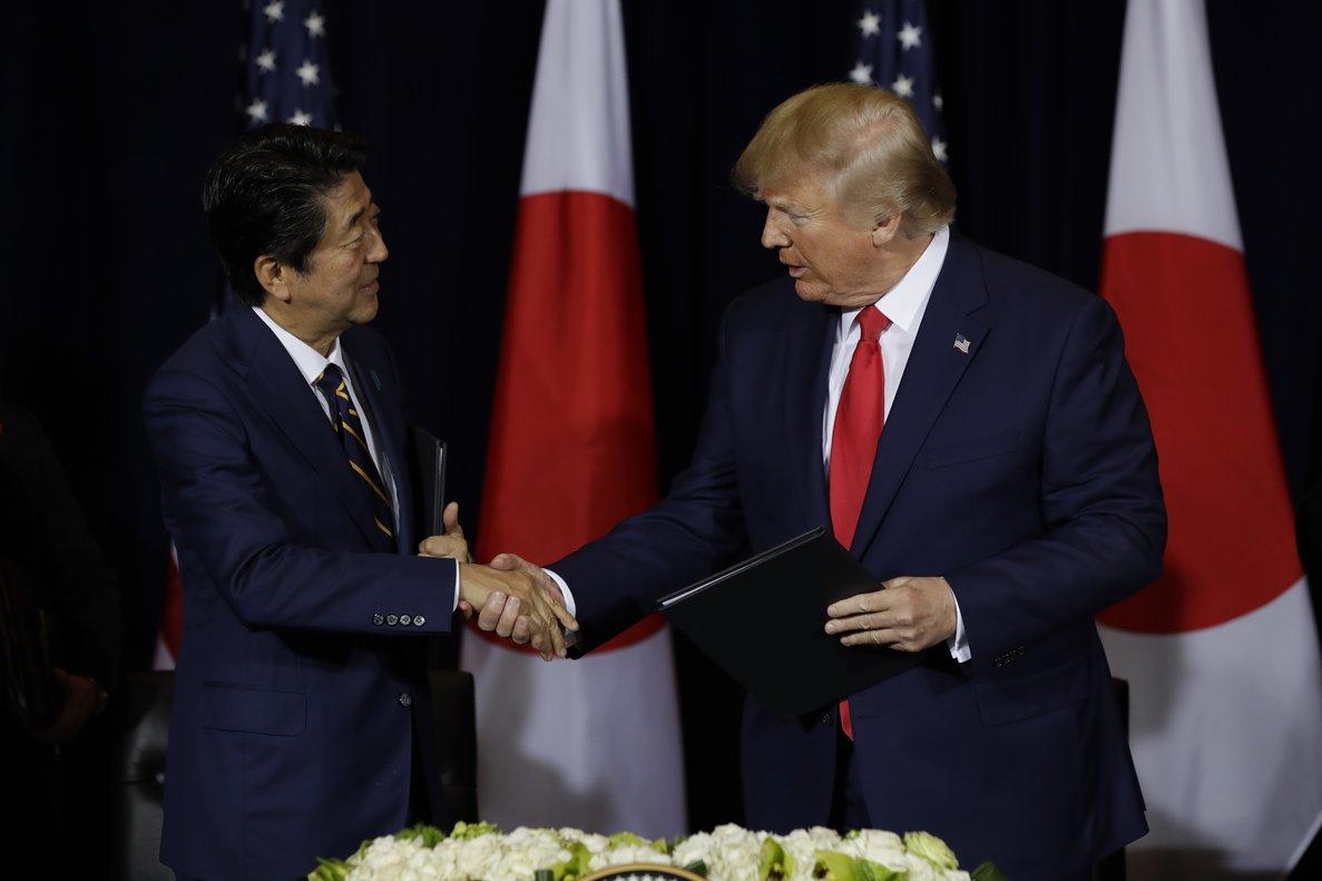 Trump ha promovido el acuerdo como una forma de reducir el déficit comercial masivo de su país con Japón.