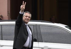 Fernández tendrá como vicepresidenta a la exmandataria Cristina Fernández.