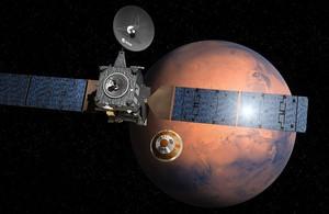 Europa es posa a Mart
