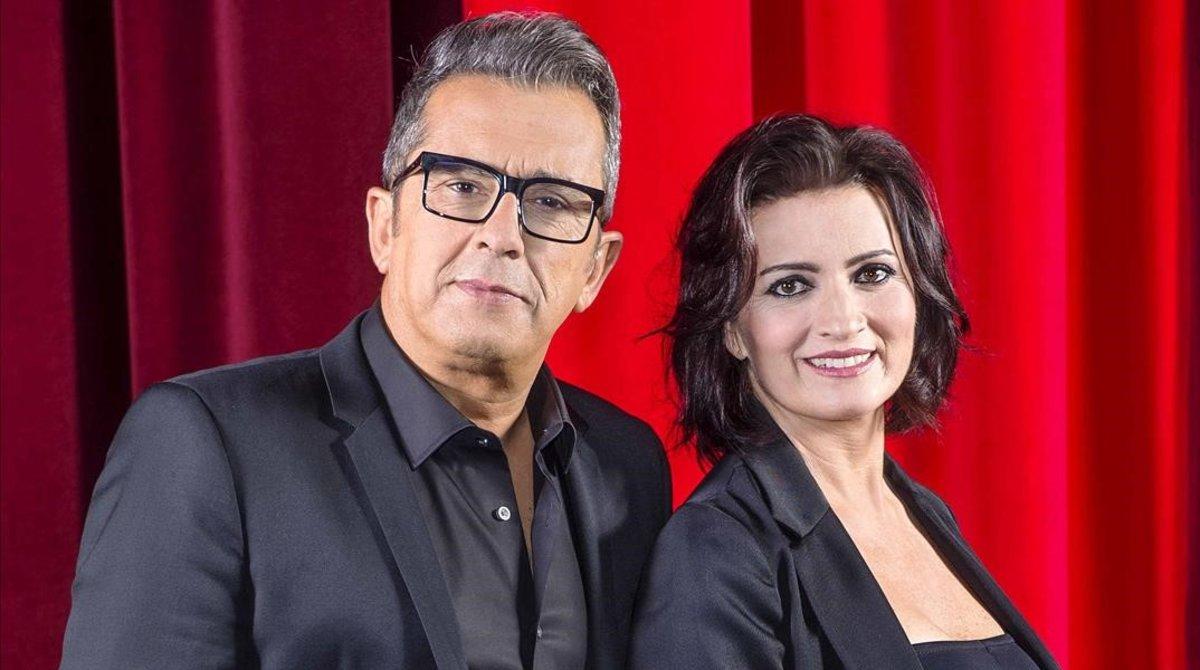 Andreu Buenafuente y Sílvia Abril.