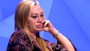 """Belén Esteban se enfada con la dirección de 'Sálvame' por una pregunta: """"Me parece vergonzoso"""""""