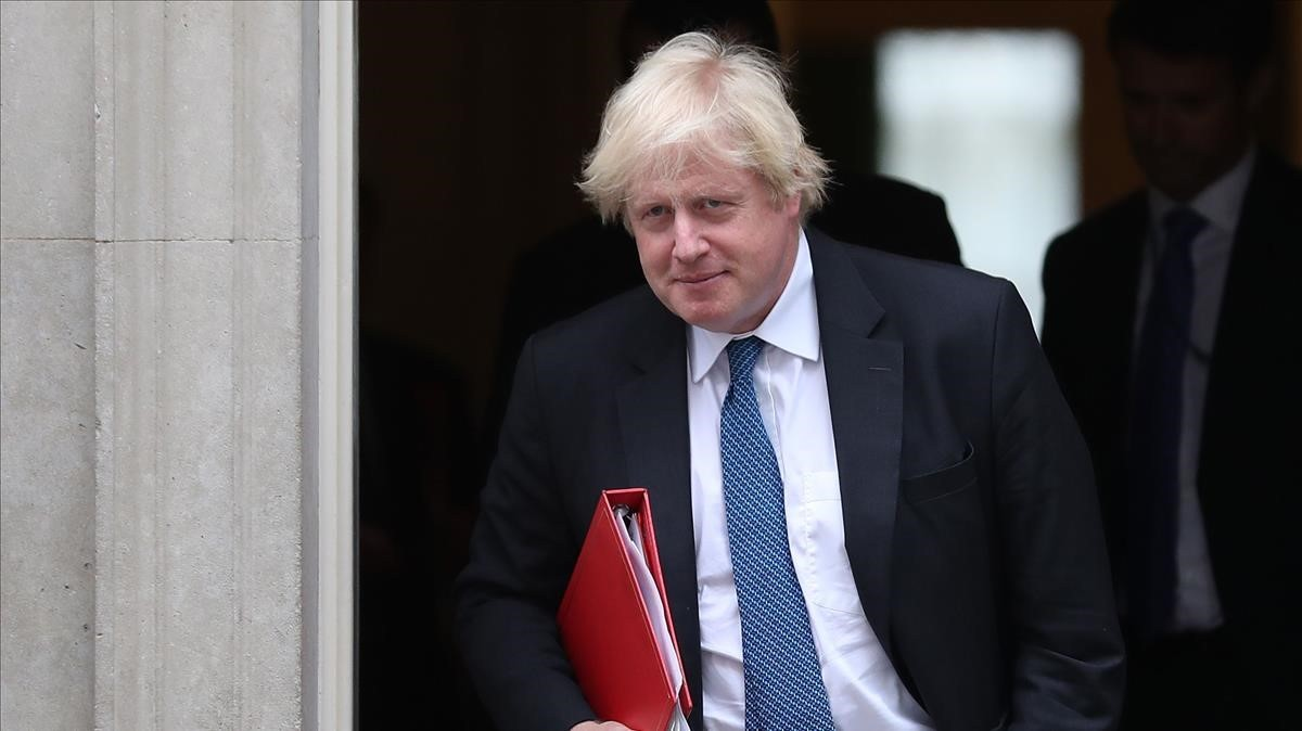 Boris Johnson, en Downing Street