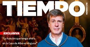 Imagen de la portada de la revista Tiempo.