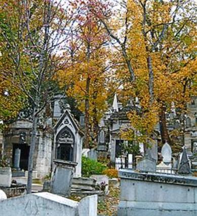 El cementerio Père-Lachaise.