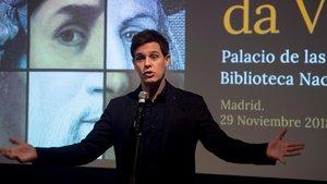 Christian Gálvez, comisario de la exposición Leonardo da Vinci: los rostros del genio
