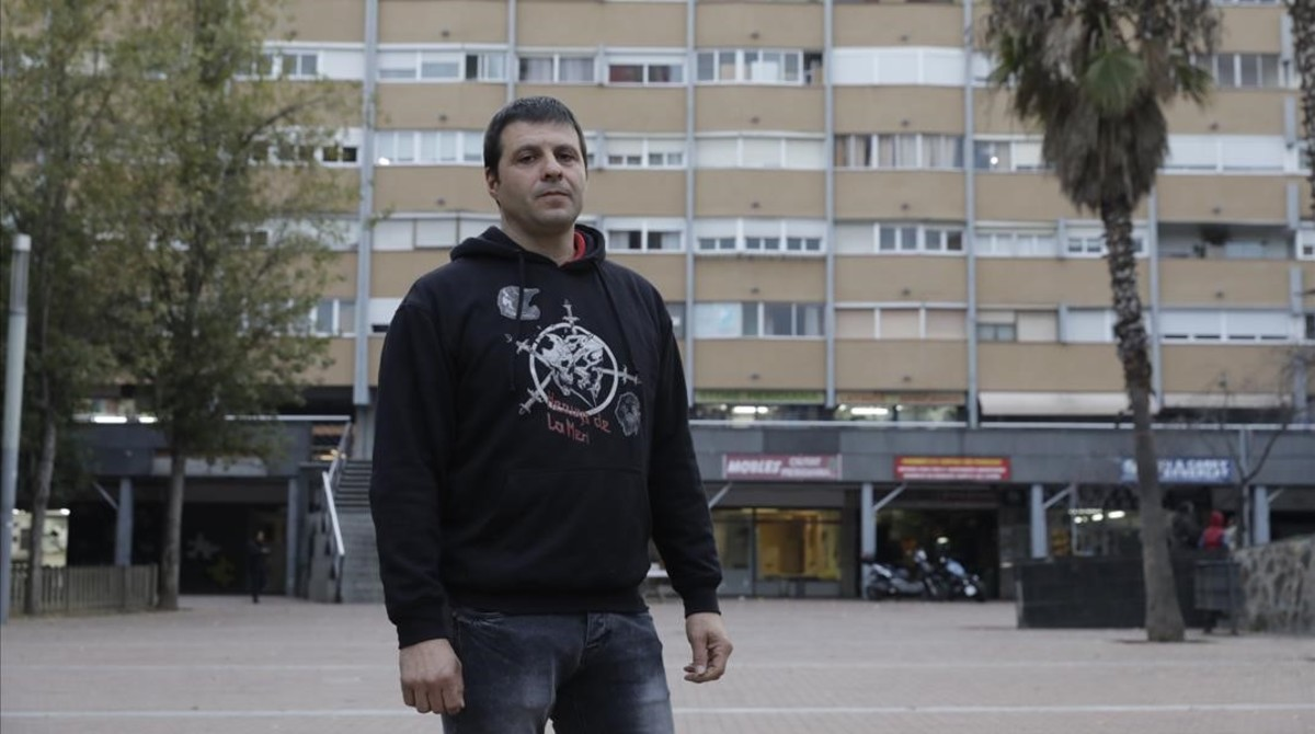 Ignasi de la Fuente, en Ciutat Meridiana.