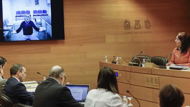 Los cabecillas de la Gürtel declaran ante la Comisión de las Corts.