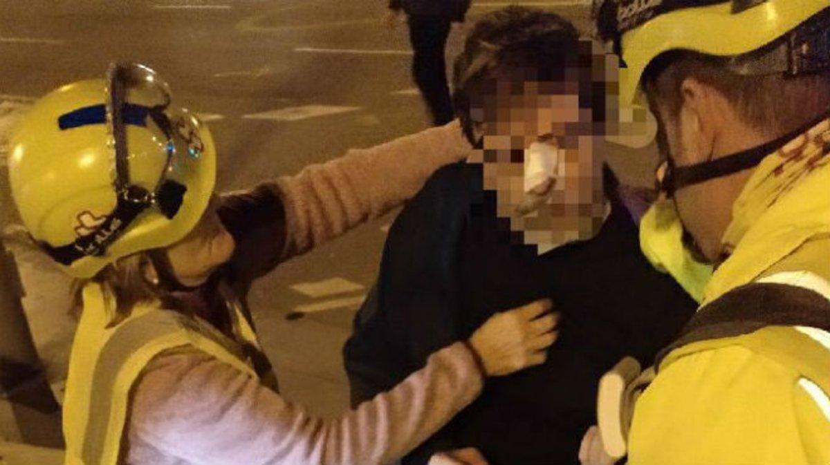 Nous incidents a la Meridiana de Barcelona: a cops de puny