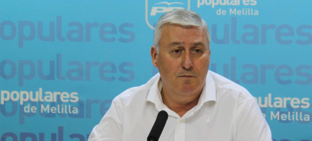 Daniel Ventura, Consejero de Bienestar Social y Coordinador de Relaciones Sectoriales del Partido Popular de Melilla.