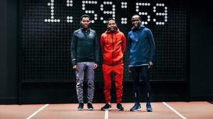 Desisa, Tadese y Kipchoge, tres de los atletas involucrados en el proyecto Nike Breaking 2.